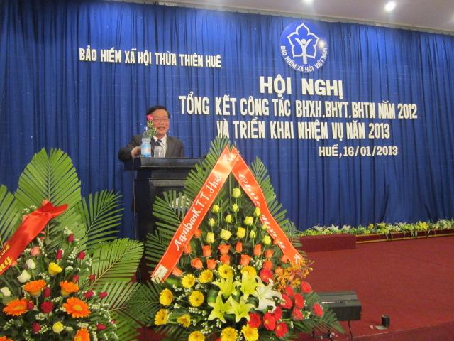 Ông Ngô Hòa - Ủy viên Thường vụ tỉnh ủy, Phó Chủ tịch Thường trực UBND tỉnh phát biểu chỉ đạo hội nghị